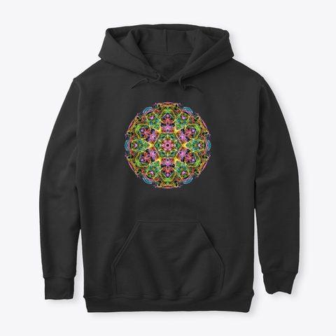 Psychedelic Mandala Hoodie Psytrance Clothing 2020