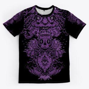 Dwarf full print t-shirt - Psytrance Clothing 2020