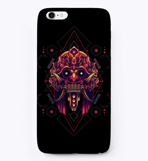 Geomatirc Monster phone case