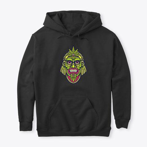 Cannabis God Hoodie - Psytrance Clothing 2020