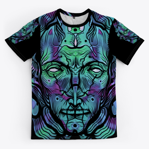 Jelly head full T-shirt - Psytrance Clothing